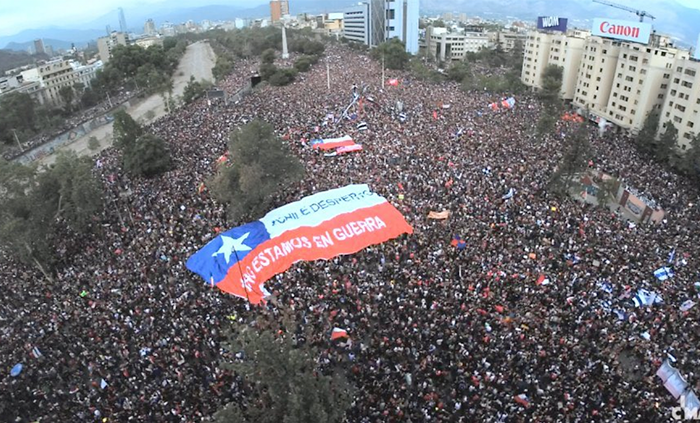 Chile: La rebelión popular se fortalece